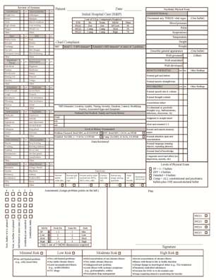 Admission H&P Template