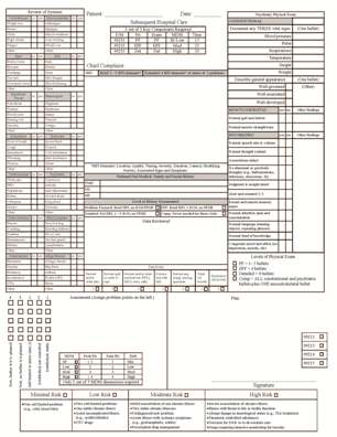 Hospital Progress Note Template